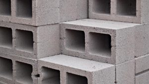 Picture of 8x8x16 cinder blocks.