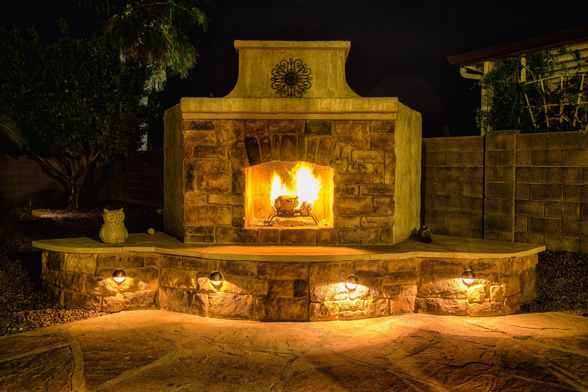 Your outdoor fireplace headquarters diy fireplace plans for Outside fireplace plans