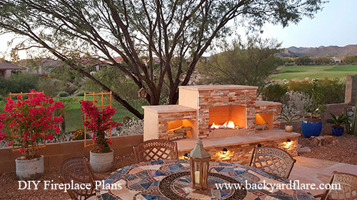 Great Ways to Finish Your Outdoor Fireplace