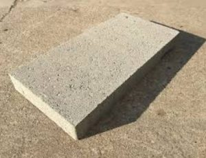 Use these cinder blocks for finish work and solid surfaces.