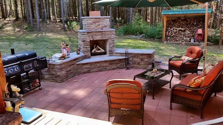 Outdoor Fireplaces and Draft Problems