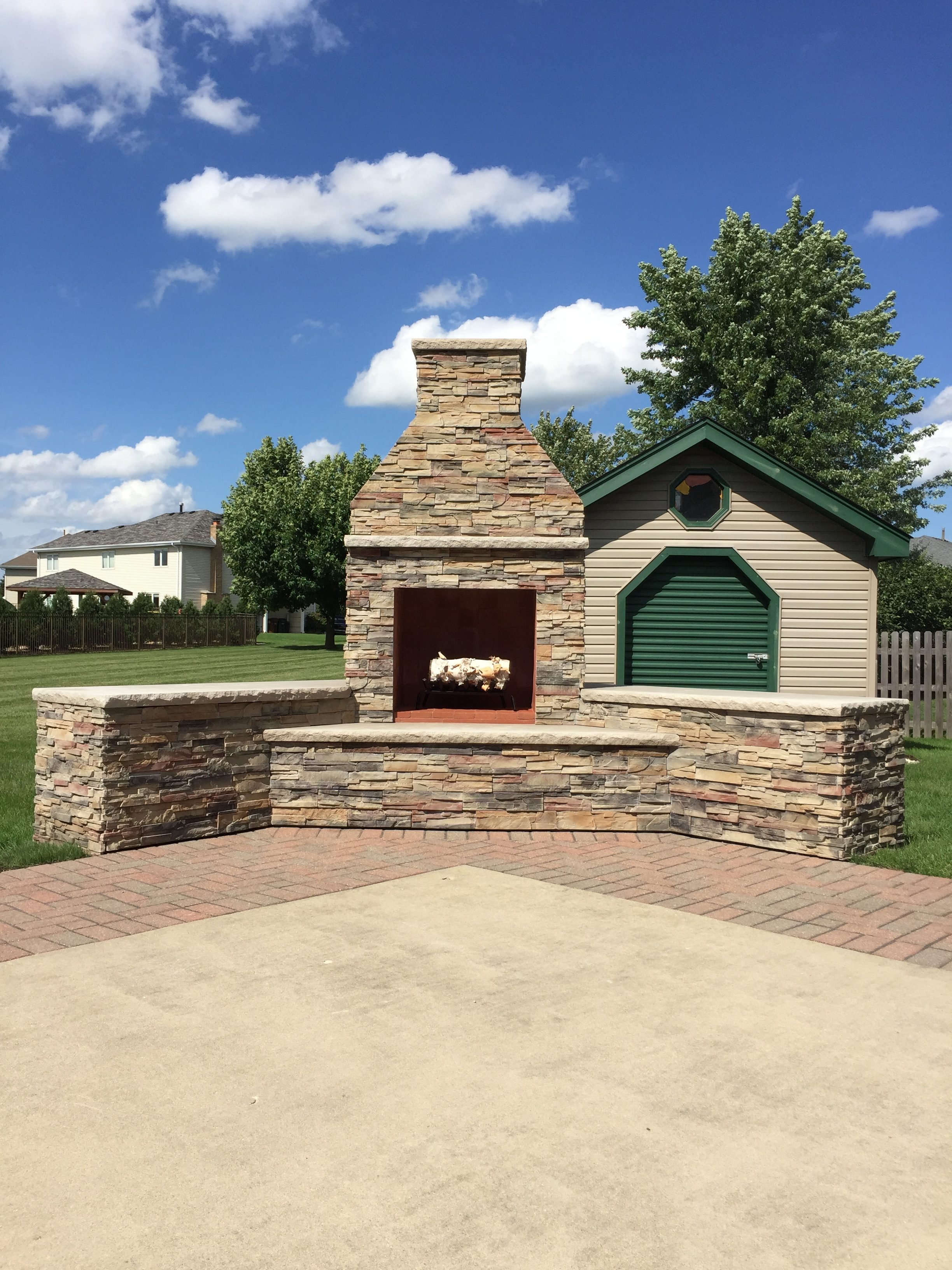 Your diy outdoor fireplace headquarters - Build your own outdoor fireplace ...