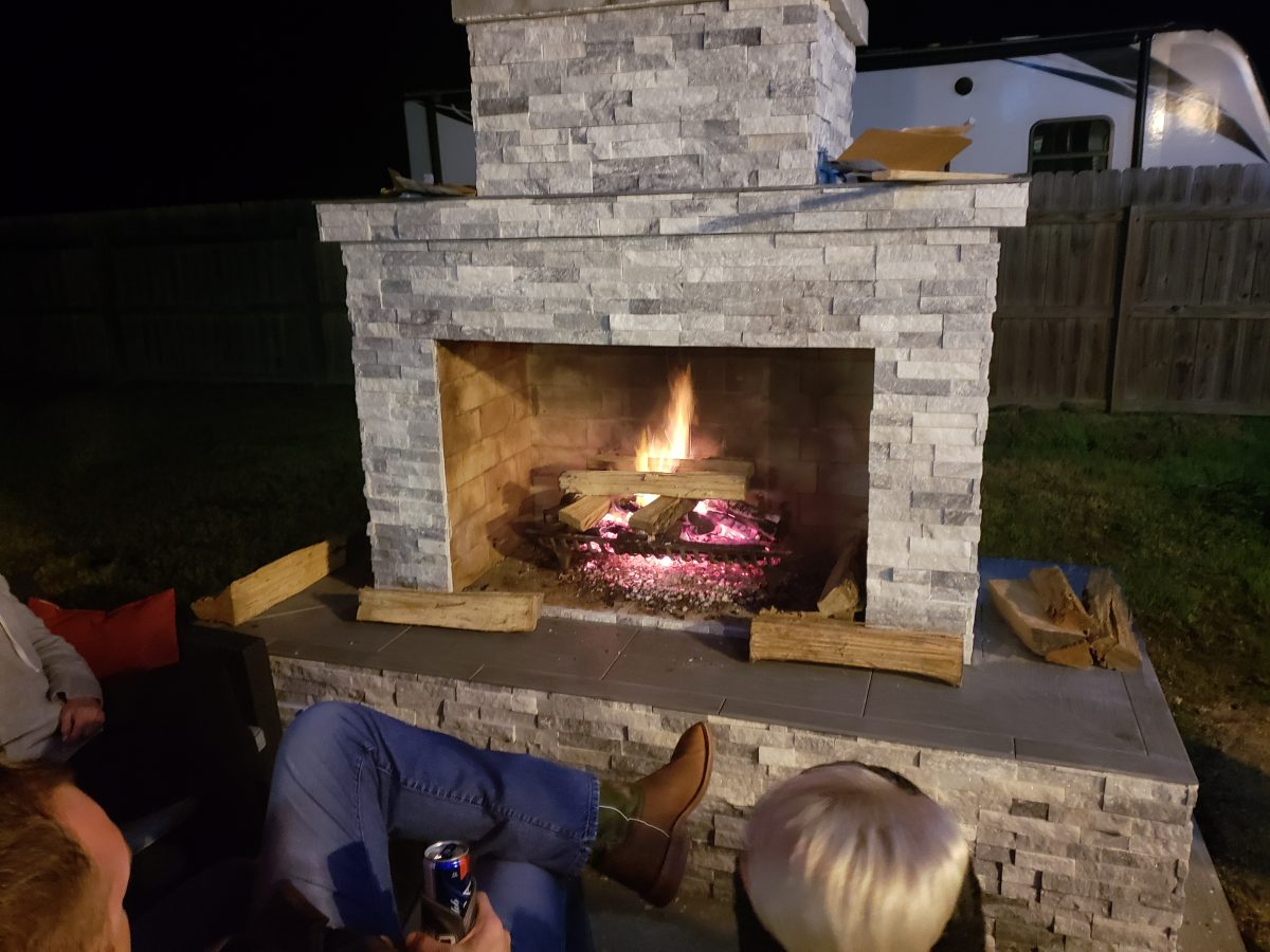 Outdoor Fireplace Review in LA