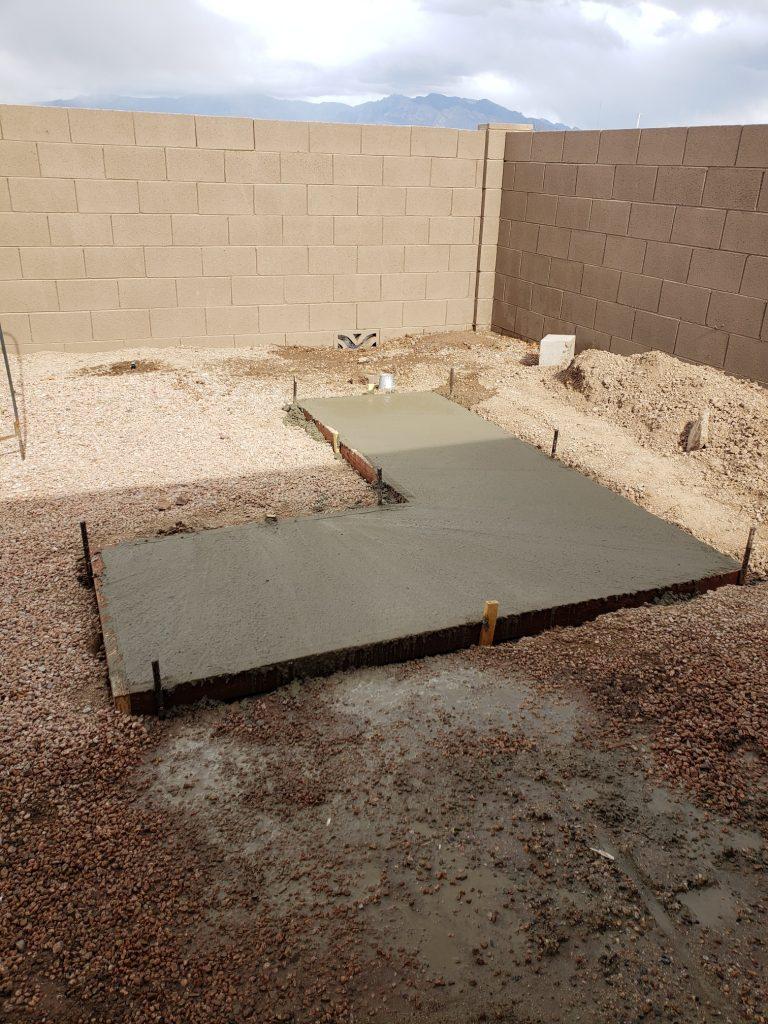 concrete pad quikrete