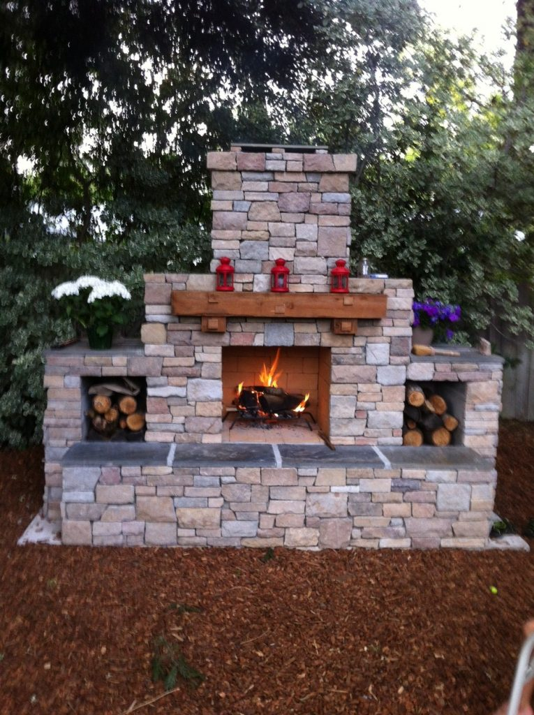 Your Diy Outdoor Fireplace Headquarters, Outdoor Fireplace Plans Free