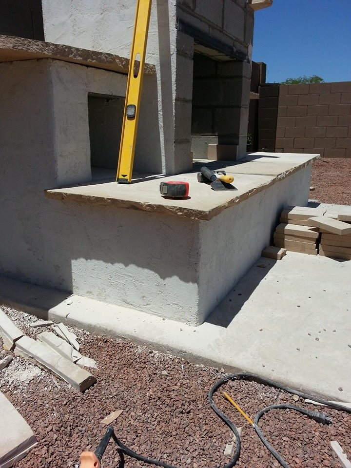 Diy Outdoor Fireplace And Concrete Pads, Outdoor Fireplace Plans Free